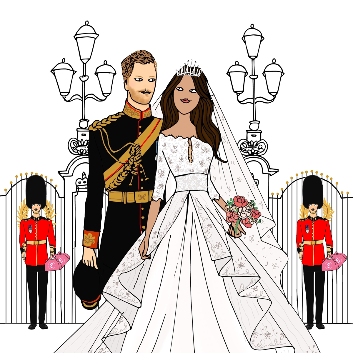 Afternoon Tea etiquette Harry & Meghan Wedding