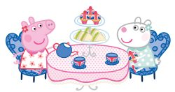 Peppa Pig Afternoon Tea menu