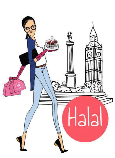 Halal Afternoon Tea London girl