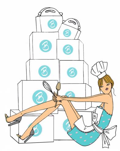 Bake box subscription bake club girl