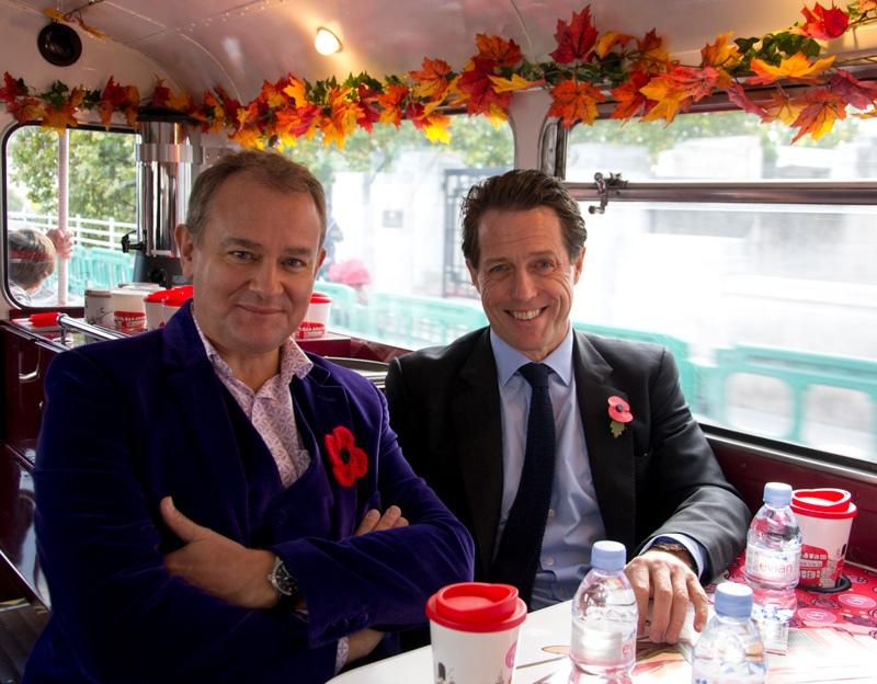 Paddington Afternoon Tea - with Hugh Grant on the B Bakery Bus