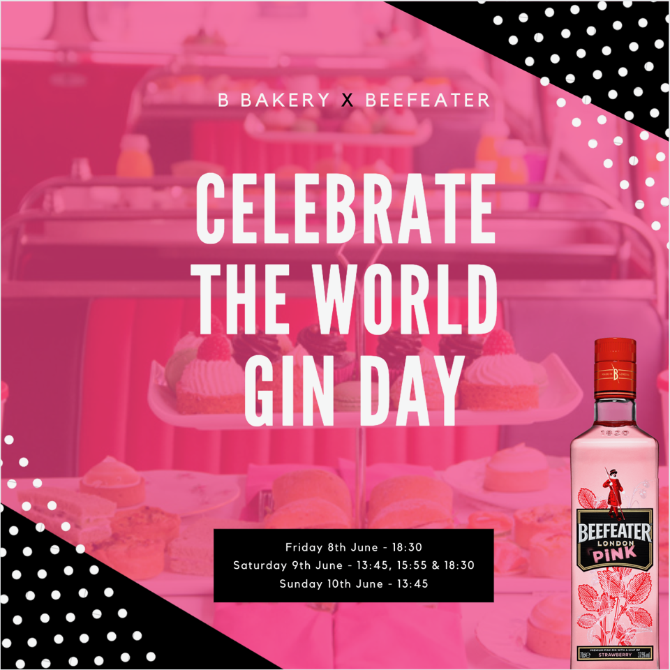 Beefeater London Gin Bus Tour for World Gin Day