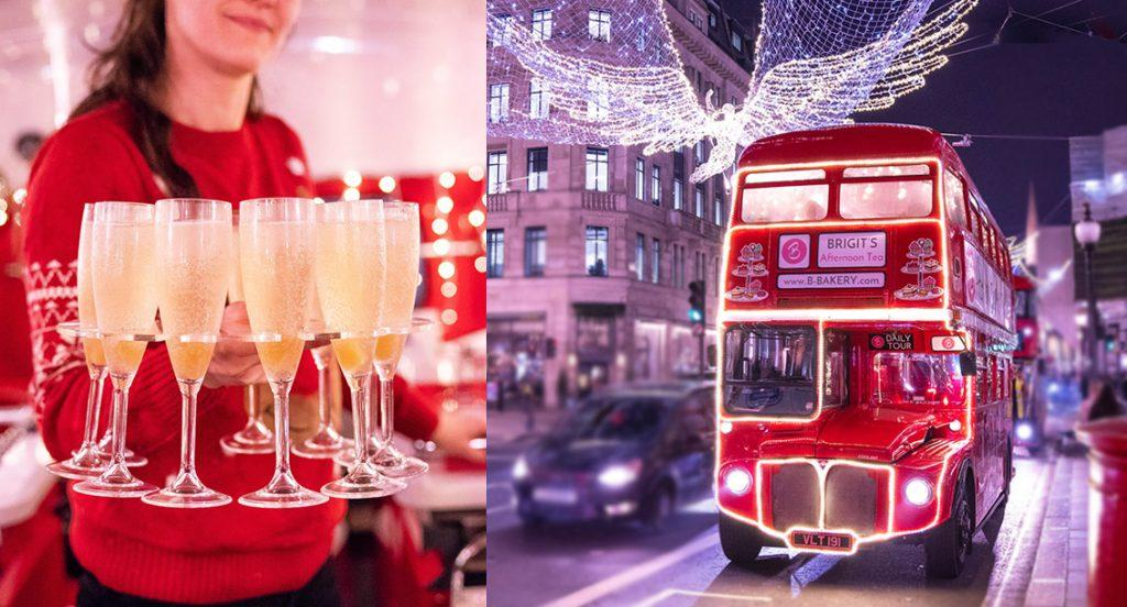 Gifts for tea lovers: Christmas Lights Bus Tour