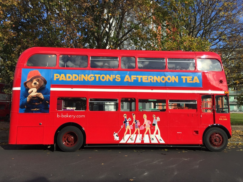 Paddington Afternoon Tea - Paddington Bus Tour