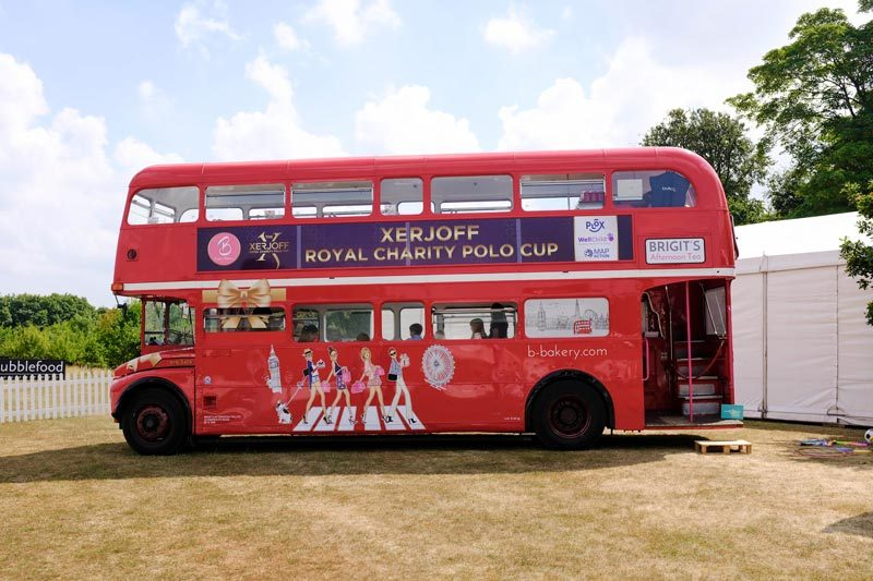 event catering london - routemaster bus hire