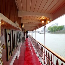 Explore London while enjoying afternoon tea on a Thames river cruise