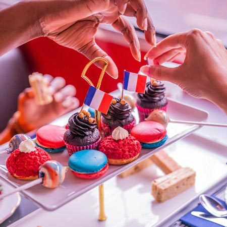 Things to do in London in July: Bastille Day London Afternoon Tea Bus Tours