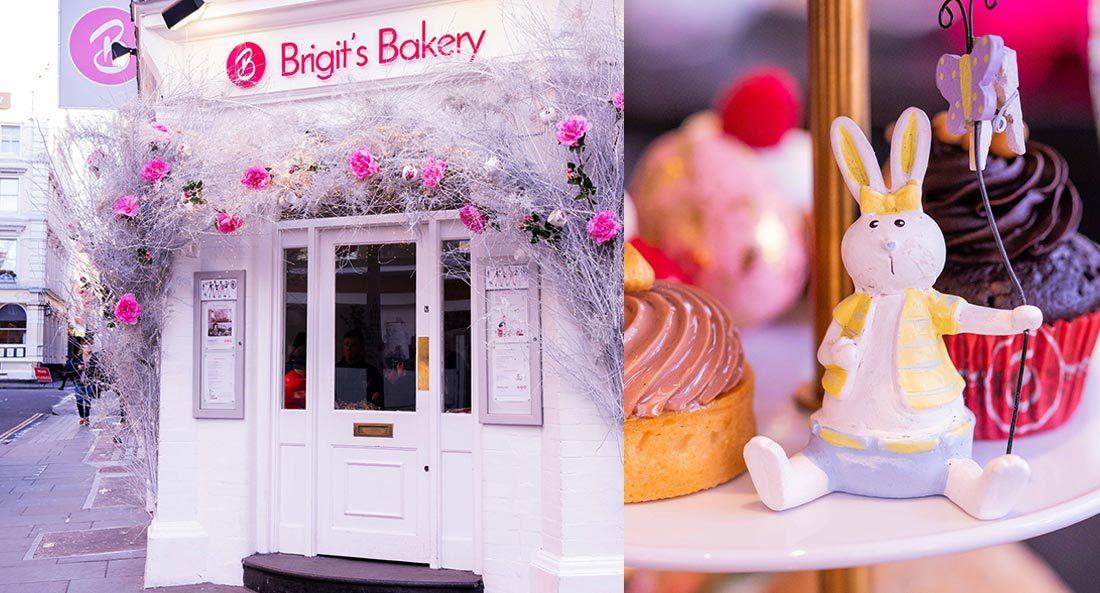 Cream Tea at Brigit's Bakery Covent Garden