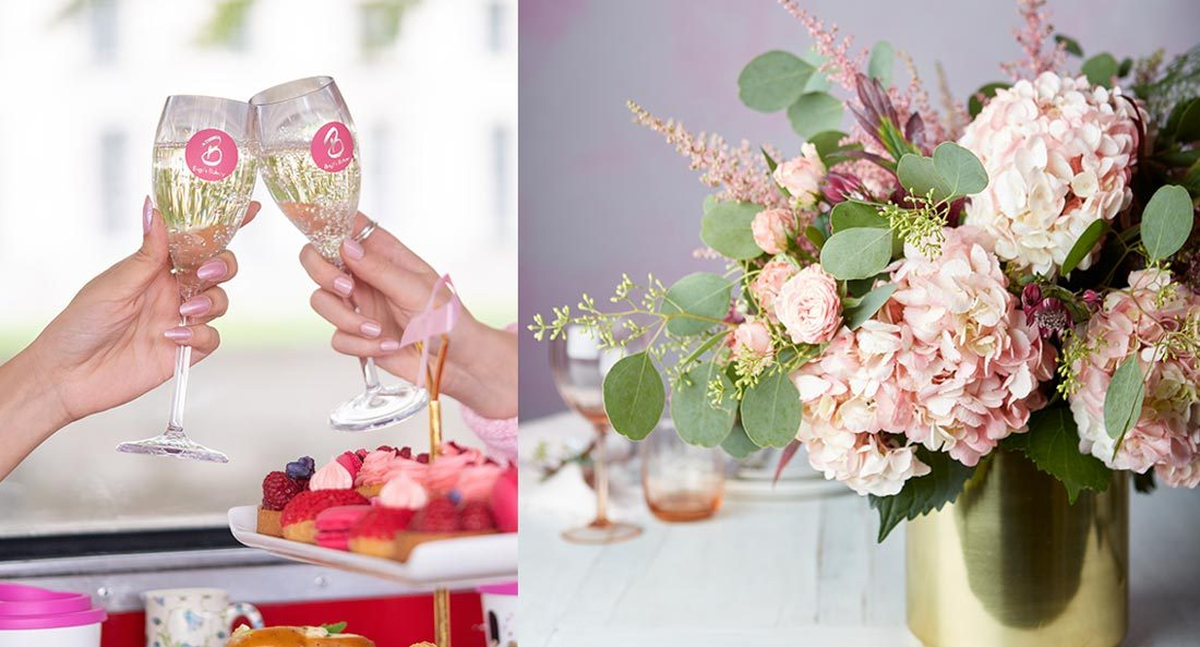 Mother's Day Afternoon Tea London & Flower Masterclass