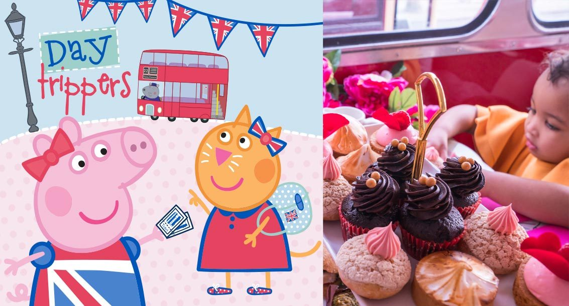 Peppa Pig Afternoon Tea London Bus Tour for kids