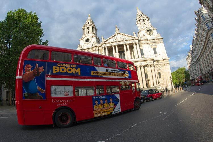 Routemaster Bus Private Hire: Guns of Boom