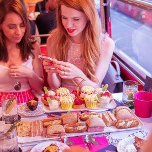 Galentine's Day Slingsby Gin Afternoon Tea Bus Tour