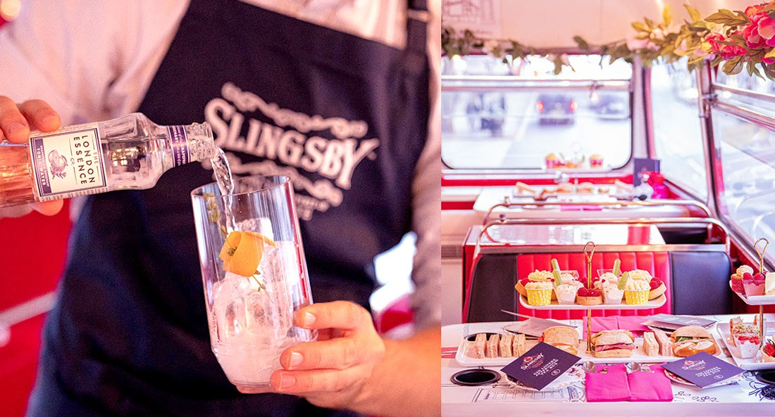 Slingsby Gin Afternoon Tea Bus Tour
