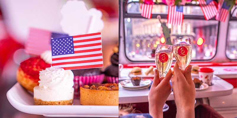 Thanksgiving London 2019 Themed Afternoon Tea Bus Tours