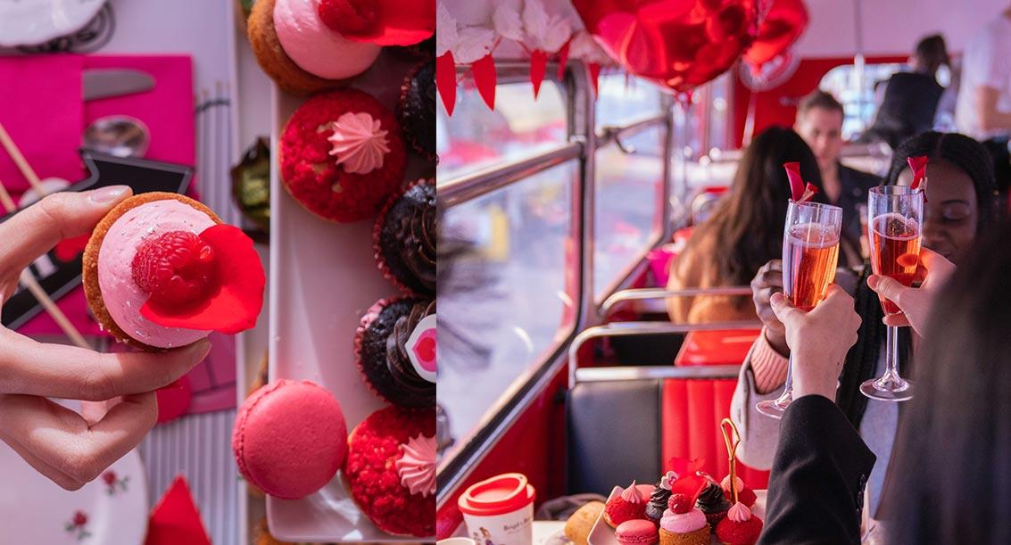 Valentines Afternoon Tea London: Bus Tour