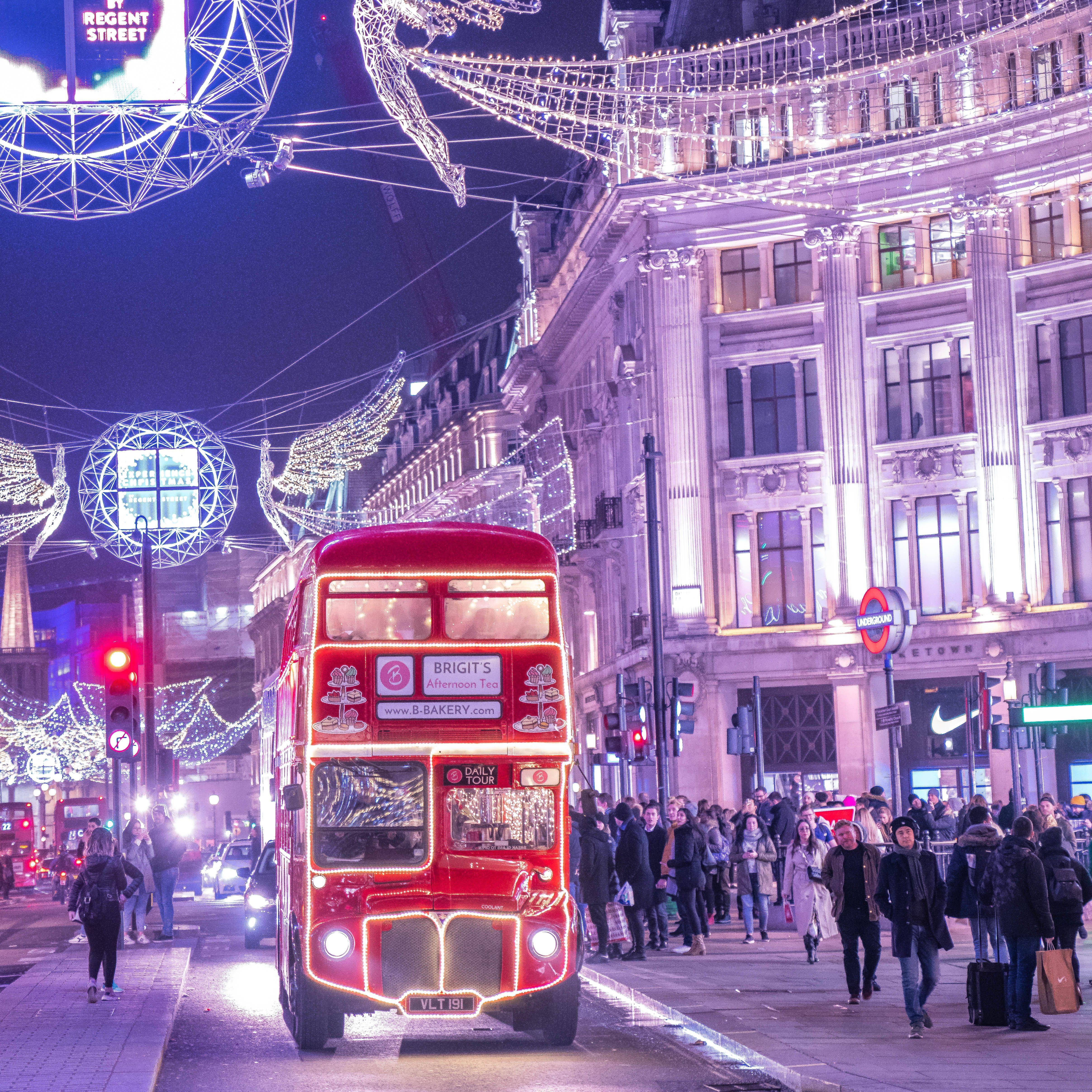 Christmas events London 2021: Christmas Lights Bus Tour