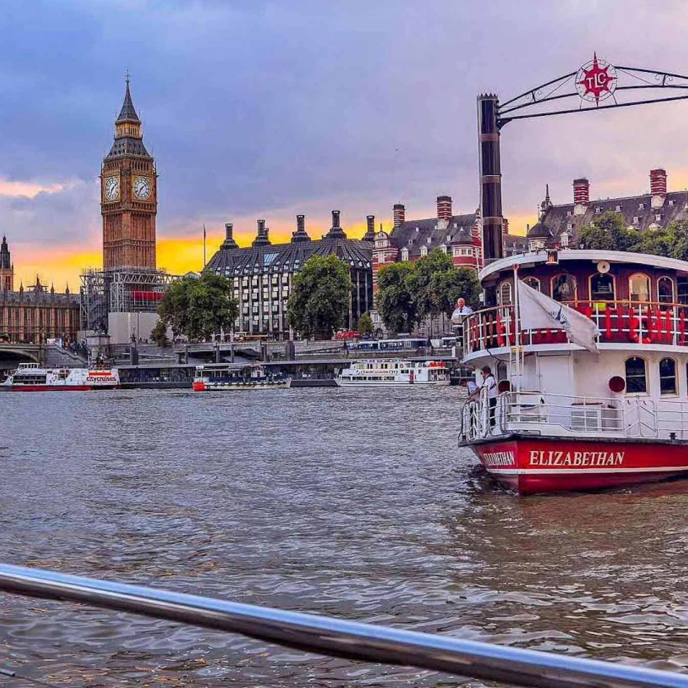 Thames cruise afternoon tea 2