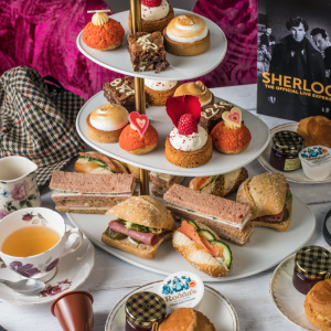 Sherlock Afternoon Tea Delivery