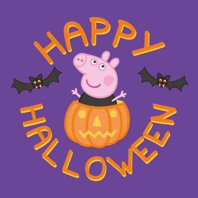 Peppa Pig Halloween Bus Tour