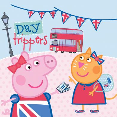 Peppa Pig Afternoon Tea Bus Tour