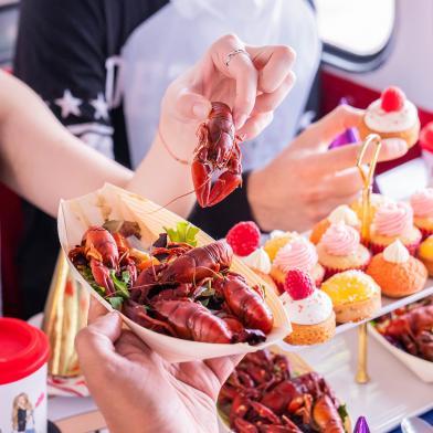 Crayfish Party London Afternoon Tea