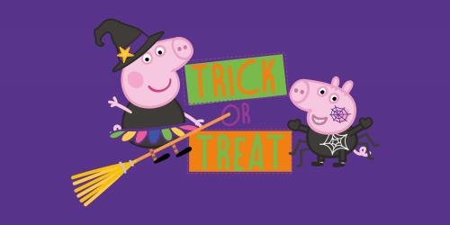 Peppa Pig Halloween Bus Tour