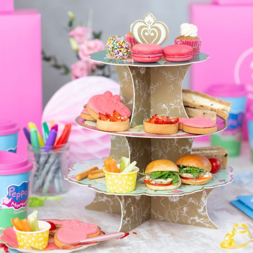 Peppa pig afternoon tea delivered 2