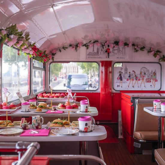 Afternoon Tea Bus 12