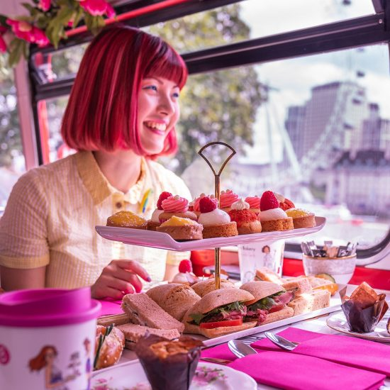 Afternoon Tea Bus London 9