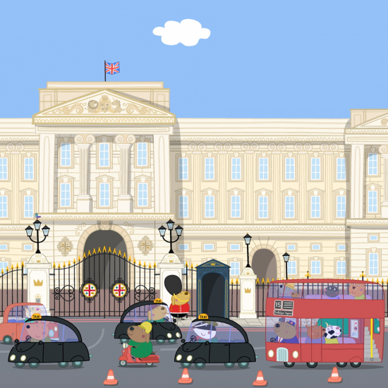 Peppa Pig Buckingham Palace