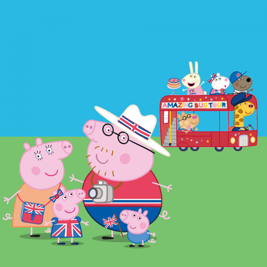 Peppa Pig Bus Tour Shadow