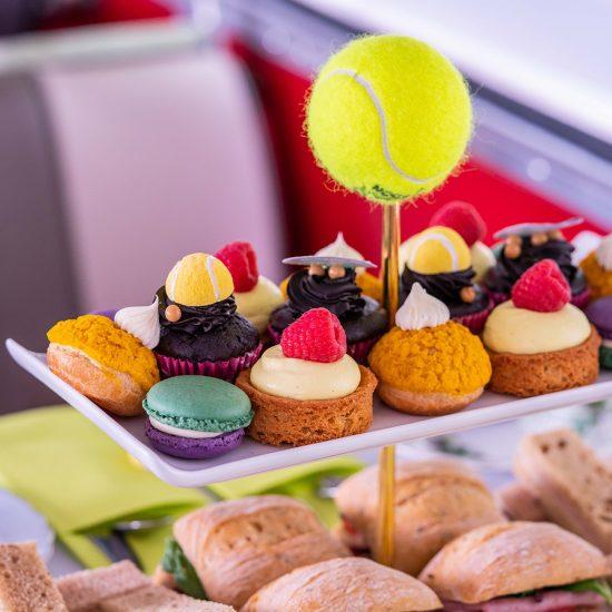 Wimbledon tennis afternoon tea 5