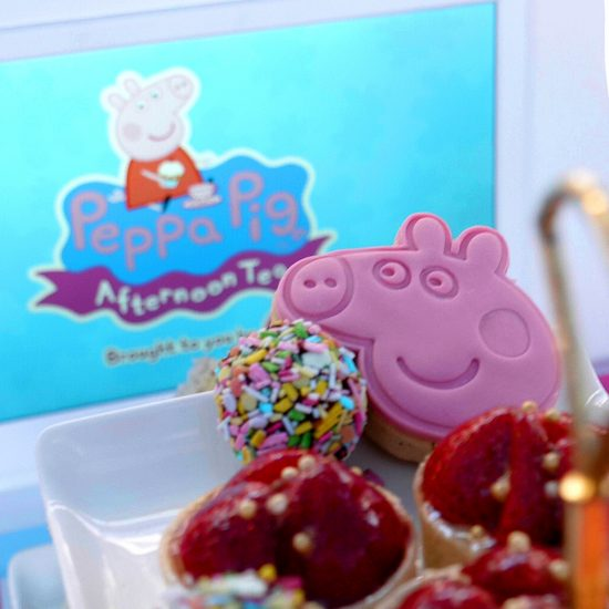 Peppa pig afternoon tea 1
