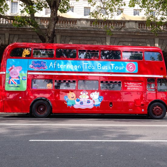 Peppa pig party bus11