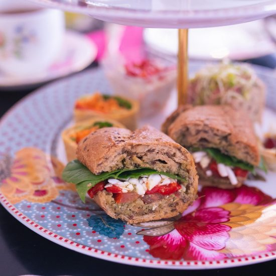 Vegetarian afternoon tea london 3