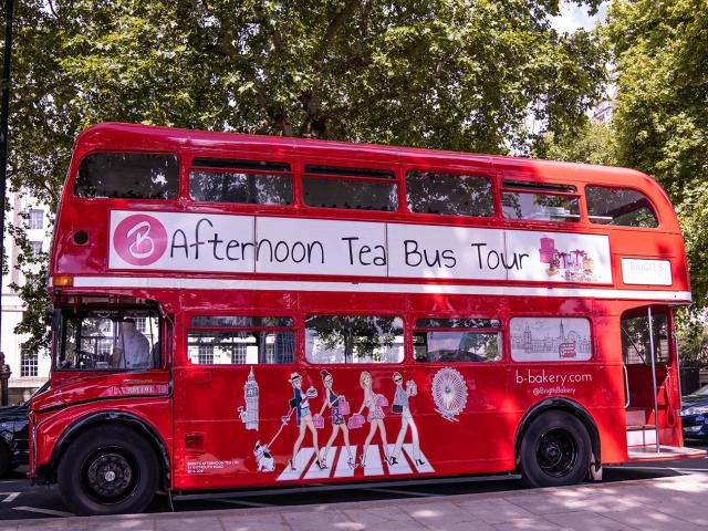 Afternoon Tea Bus London 2