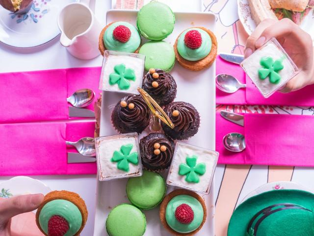 St Patricks Afternoon Tea 3
