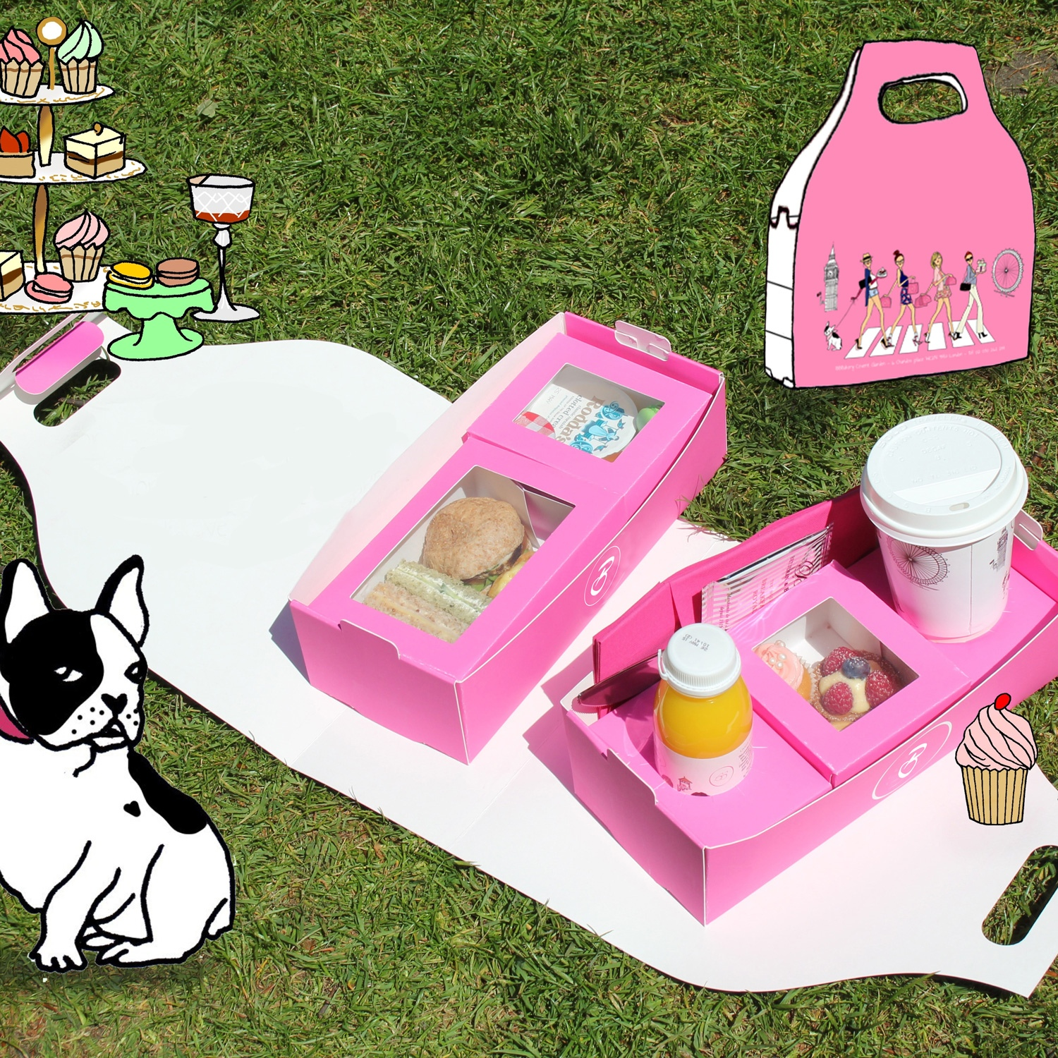 Escape the everyday - afternoon tea picnic